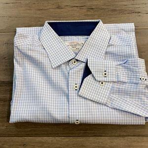 Lorenzouomo dress shirt trim fit